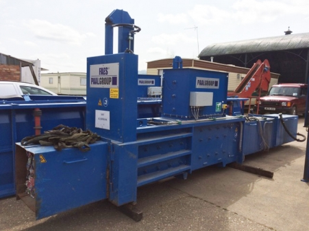 Paal S1W Fully Automatic Can Baler